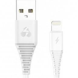 POWERTECH Καλώδιο USB σε Lightning eco PTR-0059 copper, 1m , λευκό
