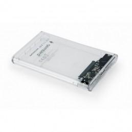 """GEMBIRD ΘΗΚΗ ΓΙΑ HDD 2.5"""" USB 3.0 ΔΙΑΦΑΝΗ ΓΙΑ ΔΙΣΚΟ 9.5ΜΜ"""