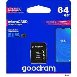 GOODRAM 64GB SD CARD CL10 S1A0