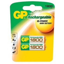 GP Batteries AA 1800mAh (2τμχ)