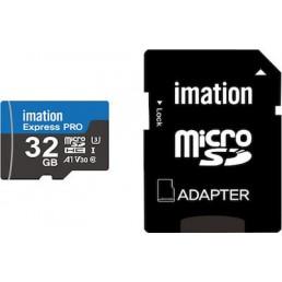 Imation Express Pro microSDXC 32GB Class 10 U3 V30 A1 with Adapter