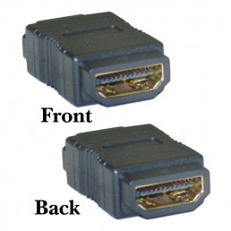 Αντάπτορας HDMI-HDMI Powertech adapter HDMI 19pin θηλυκό σε θηλυκό