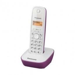 Ασύρματο Ψηφιακό Τηλέφωνο Panasonic KX-TG1611-Μωβ