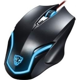 Ενσύρματο Gaming Ποντίκι Motospeed Leopard F61 Μαύρο