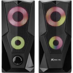 GAMING ΗΧΕΙΑ 2.0 RGB XTRIKE-ME SK-501
