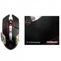 Ενσύρματο Gaming Set Mousepad & Ποντίκι Zeroground MS-2850GMS DOSAN