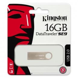 KINGSTON 16GB DATA TRAVELER SE9 16GB ALUMINIUM