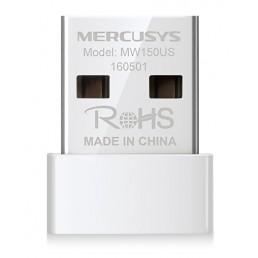 MERCUSYS Wireless Nano USB Adapter MW150US, 150Mbps, Ver. 2