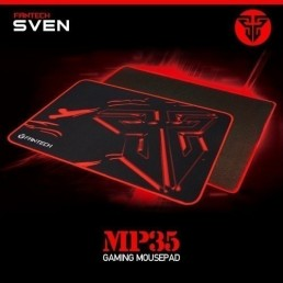 Gaming Mousepad Black 350x250 - Fantech MP-35