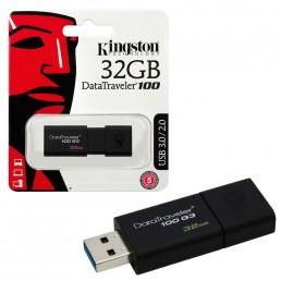 KINGSTON DATA TRAVELER 100 G3 32GB USB3.0