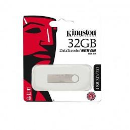 KINGSTON DATATRAVELER SE9 32GB ALUMINIUM