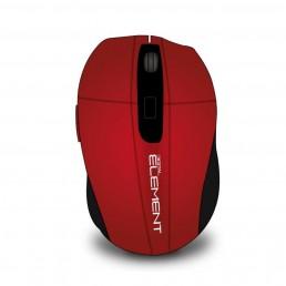 Ασύρματο Ποντίκι Element Ms-175R-RED