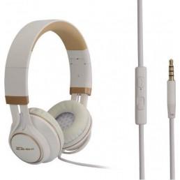 ΕΝΣΥΡΜΑΤΑ ΑΚΟΥΣΤΙΚΑ ΜΕ ΜΙΚΡΟΦΩΝΟ Headphone Element HD-670-White