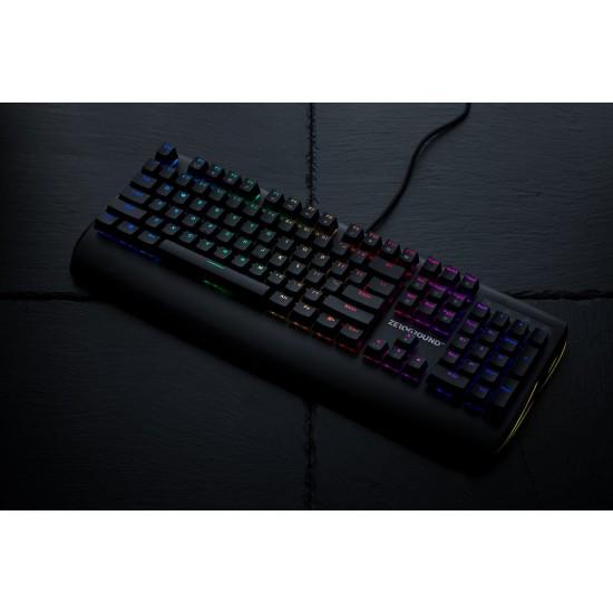 ΕΝΣΥΡΜΑΤΟ Gaming Keyboard Zeroground KB-2700G Sakimo