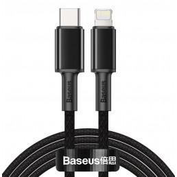 BASEUS καλώδιο USB Type-C σε Lightning CATLGD-A01, 20W, 2m, μαύρο