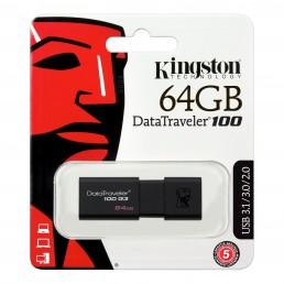 Kingston DataTraveler 100 G3 64GB USB 3.1/3.0/2.0