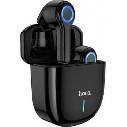 HOCO RT07 BUSINESS BLUETOOTH RETRACTABLE EARPHONE, BLACK