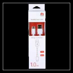 HUAWEI AP-51 USB->TYPE C 2.0 ΦΟΡΤΙΣΗΣ-DATA 1.0m WHITE PACKING OR