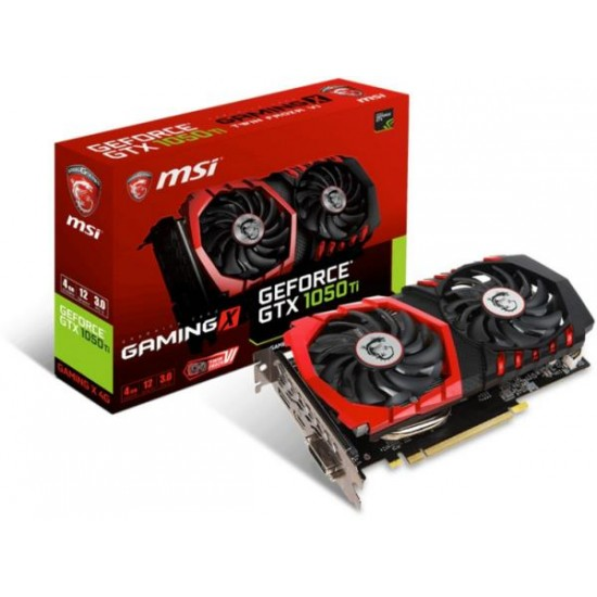 MSI GEFORCE GTX1050 TI GAMING X 4GB GDDR5