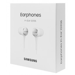SAMSUNG Earphones IG935 με μικρόφωνο, 90dB, 1.2m, λευκά