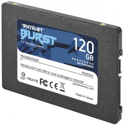 SSD PATRIOT PBE120GS25SSDR BURST ELITE 120GB 2.5'' SATA 3
