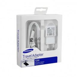 TRAVEL SAMSUNG EP-TA12EWE 2A USB + DATA ECB-DU4AWE WHITE MICRO USB PACKING OR
