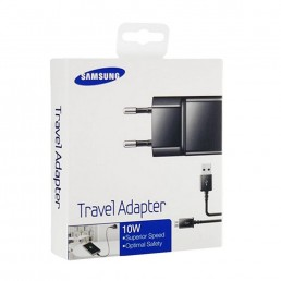 TRAVEL SAMSUNG ETA-U90EBEG 2A USB + DATA ECB-DU4ABE BLACK PACKING OR