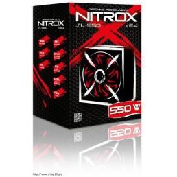 ΤΡΟΦΟΔΟΤΙΚΟ PSU ATX INTER-TECH NITROX SL-550W V2.4