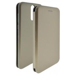 Θήκη Book Ancus Magnetic Curve για Huawei Mate 10 Lite TPU Χρυσαφί