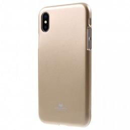 MERCURY IJELLY ΘΗΚΗ ΣΙΛΙΚΟΝΗΣ IPHONE X (GOLD)-ΧΡΥΣΟ