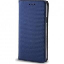 ΘΗΚΗ SMART BOOK STAND CASE ΜΠΛΕ - IPHONE X