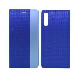 Θήκη Book Ancus Magnetic Canvas για SM-A505F Galaxy A50 / SM-A507F Galaxy A50s / SM-A307F Galaxy A30s TPU Μπλέ