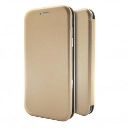 Θήκη Book Ancus Magnetic Curve για Samsung SM-A505F Galaxy A50 / SM-A507F Galaxy A50s / SM-A307F Galaxy A30s TPU Χρυσαφί