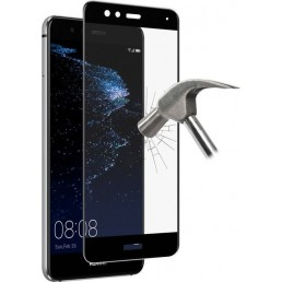 """IDOL 1991 TEMPERED GLASS HUAWEI P10 LITE 5.2"""" 9H 0.25mm 9D FULL GLUE SPECIAL FULL COVER BLACK"""