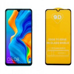 """IDOL 1991 TEMPERED GLASS HUAWEI P30 LITE 6.15"""" 9H 0.25mm 9D FULL GLUE SPECIAL FULL COVER BLACK"""