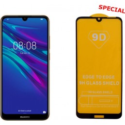 """IDOL 1991 TEMPERED GLASS HUAWEI Y6 2019/Y6 PRO 2019 6.09"""" 9H 0.25mm 9D FULL GLUE SPECIAL FULL COVER BLACK"""