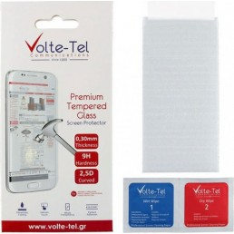 """VOLTE-TEL TEMPERED GLASS IPHONE 11 PRO/XS/X 5.8"""" 9H 0.30mm 2.5D FULL GLUE FULL COVER"""