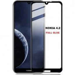 "VOLTE-TEL TEMPERED GLASS NOKIA 4.2 5.71"" 9H 0.30mm 2.5D FULL GLUE"