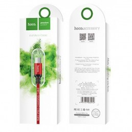 HOCO X14 TIMES SPEED MICRO CHARGING CABLE(L=2M) ΚΟΚΚΙΝΟ